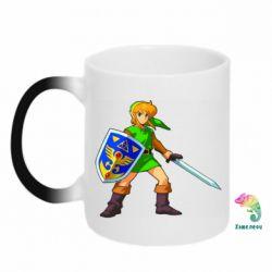 Кружка-хамелеон Zelda