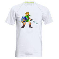 Мужская спортивная футболка Zelda