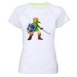 Женская спортивная футболка Zelda