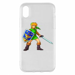 Чехол для iPhone X/Xs Zelda