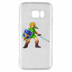 Чехол для Samsung S7 Zelda