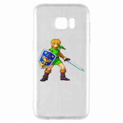 Чехол для Samsung S7 EDGE Zelda