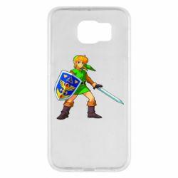 Чехол для Samsung S6 Zelda