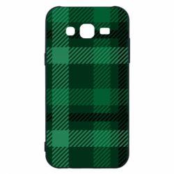Чохол для Samsung J5 2015 Зелений в клітку - FatLine