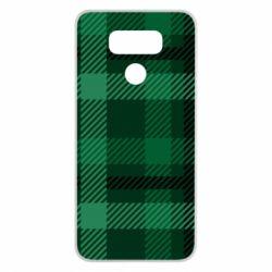 Чохол для LG G6 Зелений в клітку - FatLine