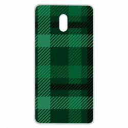 Чохол для Nokia 3 Зелений в клітку - FatLine