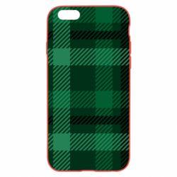 Чохол для iPhone 6 Plus/6S Plus Зелений в клітку - FatLine