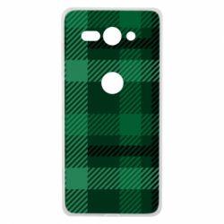 Чохол для Sony Xperia XZ2 Compact Зелений в клітку - FatLine