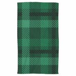 Рушник Зелений в клітку - FatLine