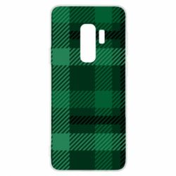 Чохол для Samsung S9+ Зелений в клітку - FatLine