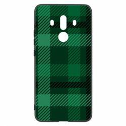 Чохол для Huawei Mate 10 Pro Зелений в клітку - FatLine