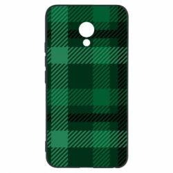 Чохол для Meizu M5 Зелений в клітку - FatLine