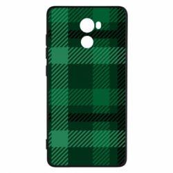 Чохол для Xiaomi Redmi 4 Зелений в клітку - FatLine