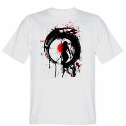 Чоловіча футболка Zen girl art