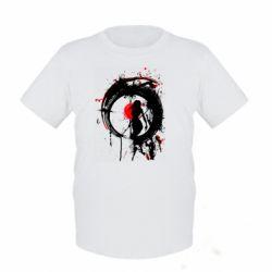 Дитяча футболка Zen girl art