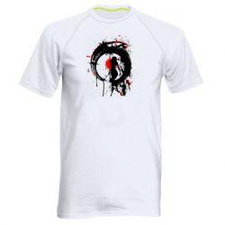 Чоловіча спортивна футболка Zen girl art