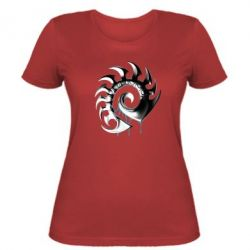 Женская футболка Zerg Symbol