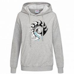 Женская толстовка Zerg Symbol