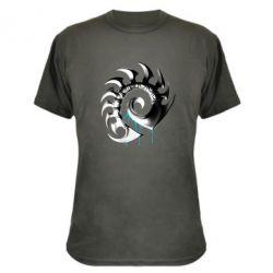 Камуфляжная футболка Zerg Symbol - FatLine