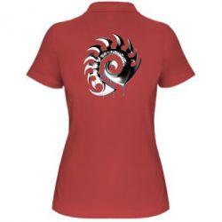 Женская футболка поло Zerg Symbol - FatLine