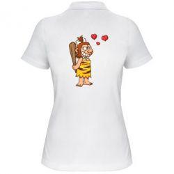 Женская футболка поло Ж+