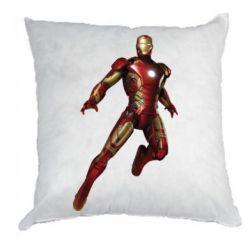 Подушка Железный Человек в воздухе - FatLine