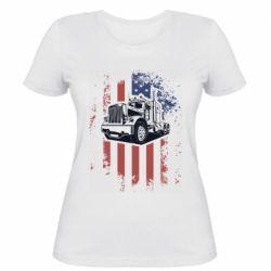 Жіноча футболка American Truck