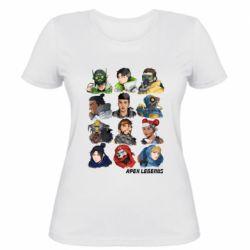 Жіноча футболка Apex legends heroes