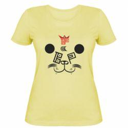 Женская футболка BEAR PANDA BP VERSION 2