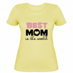 Жіноча футболка Best mom