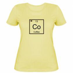 Жіноча футболка Co coffee