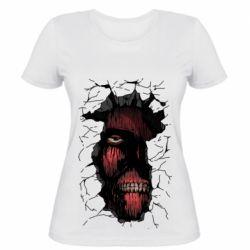 Жіноча футболка Colossal titan