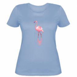 Жіноча футболка Фламинго