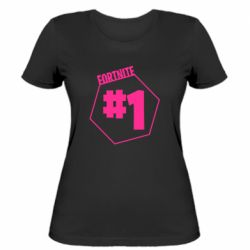 Жіноча футболка Fortnight number 1