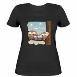 Жіноча футболка Happy family