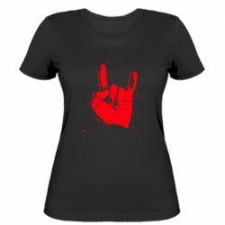 Жіноча футболка HEAVY METAL ROCK