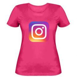 Жіноча футболка Instagram Logo Gradient