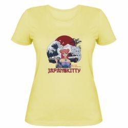Жіноча футболка Japan Kitty