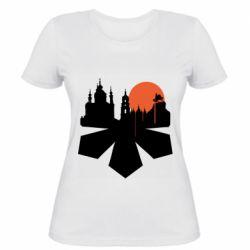 Жіноча футболка Kiev city of chestnuts