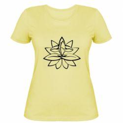 Жіноча футболка Lotus yoga