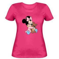 Жіноча футболка Minnie And Bear