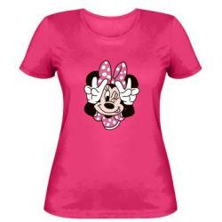 Жіноча футболка Minnie Mouse