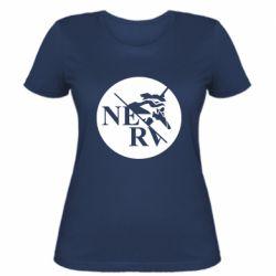 Жіноча футболка Nerv