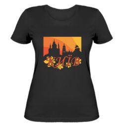 Жіноча футболка Night-Day Kiev