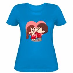 Жіноча футболка Парочка. Які щічки