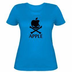 Женская футболка Pirate Apple