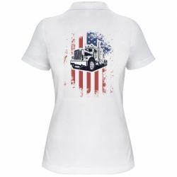 Жіноча футболка поло American Truck