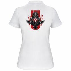 Жіноча футболка поло Bloodhound Art