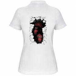 Жіноча футболка поло Colossal titan