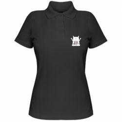 Жіноча футболка поло Don't Stress Be Youself